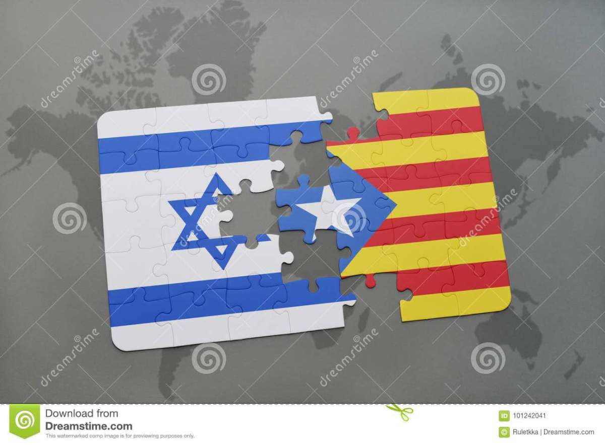 Are Israel and Catalonia good friends  ?